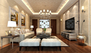 多层别墅-欧式风格